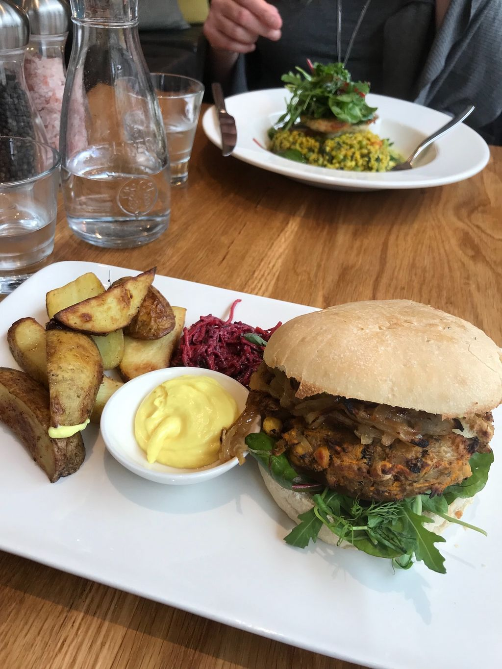 """Photo of Loudons Cafe and Bakery  by <a href=""""/members/profile/AshleighC"""">AshleighC</a> <br/>Loudons veggie burger (confirmed all vegan) <br/> March 15, 2018  - <a href='/contact/abuse/image/105784/370983'>Report</a>"""