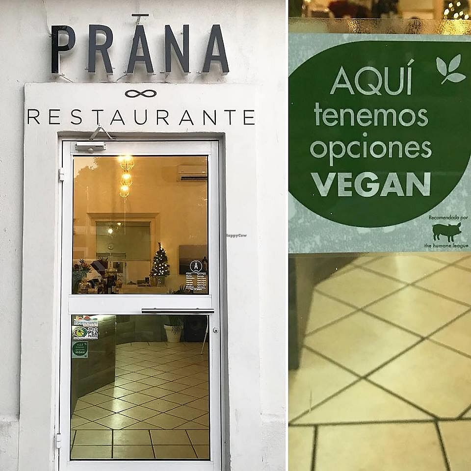 """Photo of Prana Restaurante  by <a href=""""/members/profile/YanethGris"""">YanethGris</a> <br/>Vegan friendly restaurant recommended by The Humane League.  <br/> November 25, 2017  - <a href='/contact/abuse/image/105799/328932'>Report</a>"""