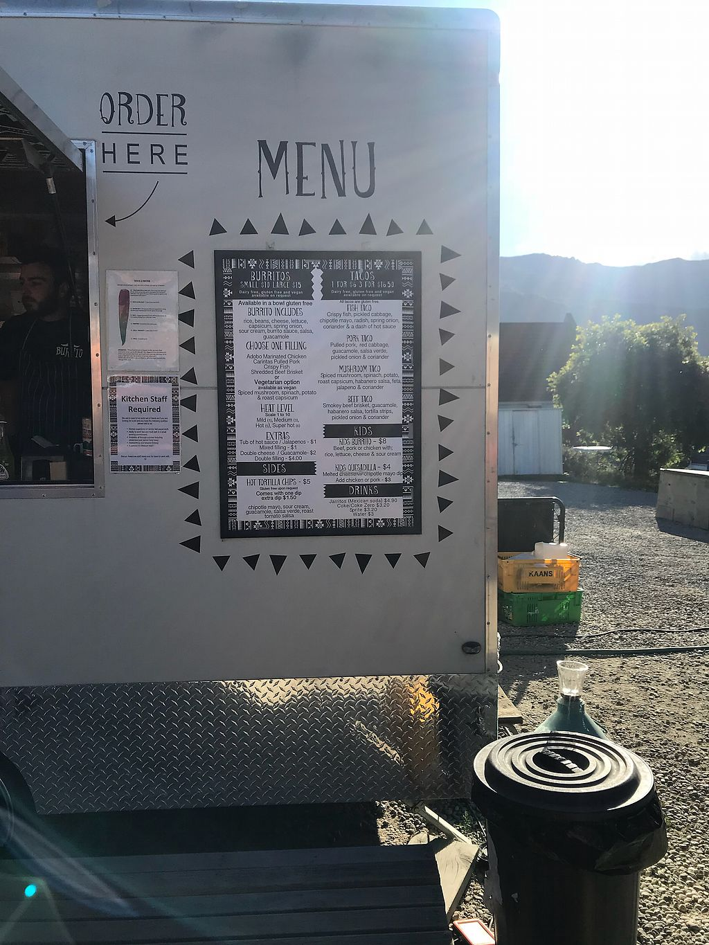 "Photo of Burrito Craft - Food Trailer  by <a href=""/members/profile/Paolla"">Paolla</a> <br/>Menu <br/> December 3, 2017  - <a href='/contact/abuse/image/105811/331663'>Report</a>"