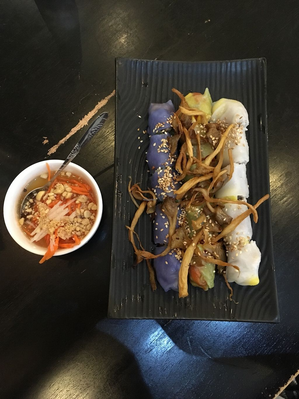 """Photo of The Plumber  by <a href=""""/members/profile/_zelisa"""">_zelisa</a> <br/>Vietnamese steamed rolls with different filllings (cabbage, veggies, mashed beans)  <br/> November 26, 2017  - <a href='/contact/abuse/image/105833/329383'>Report</a>"""