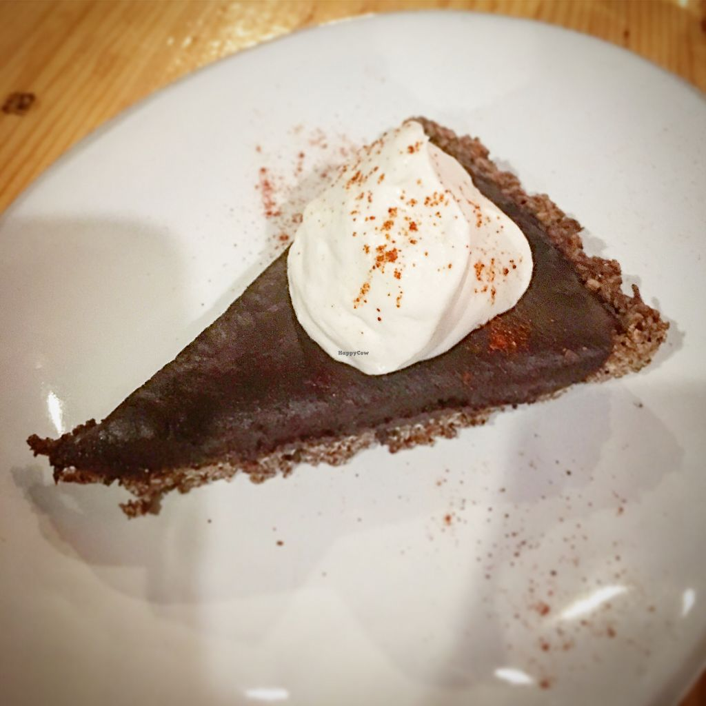 """Photo of Cocina de La Sirena  by <a href=""""/members/profile/JeffJohnson"""">JeffJohnson</a> <br/>Chocolate chile torte with cashew creme  <br/> November 24, 2017  - <a href='/contact/abuse/image/105837/328818'>Report</a>"""