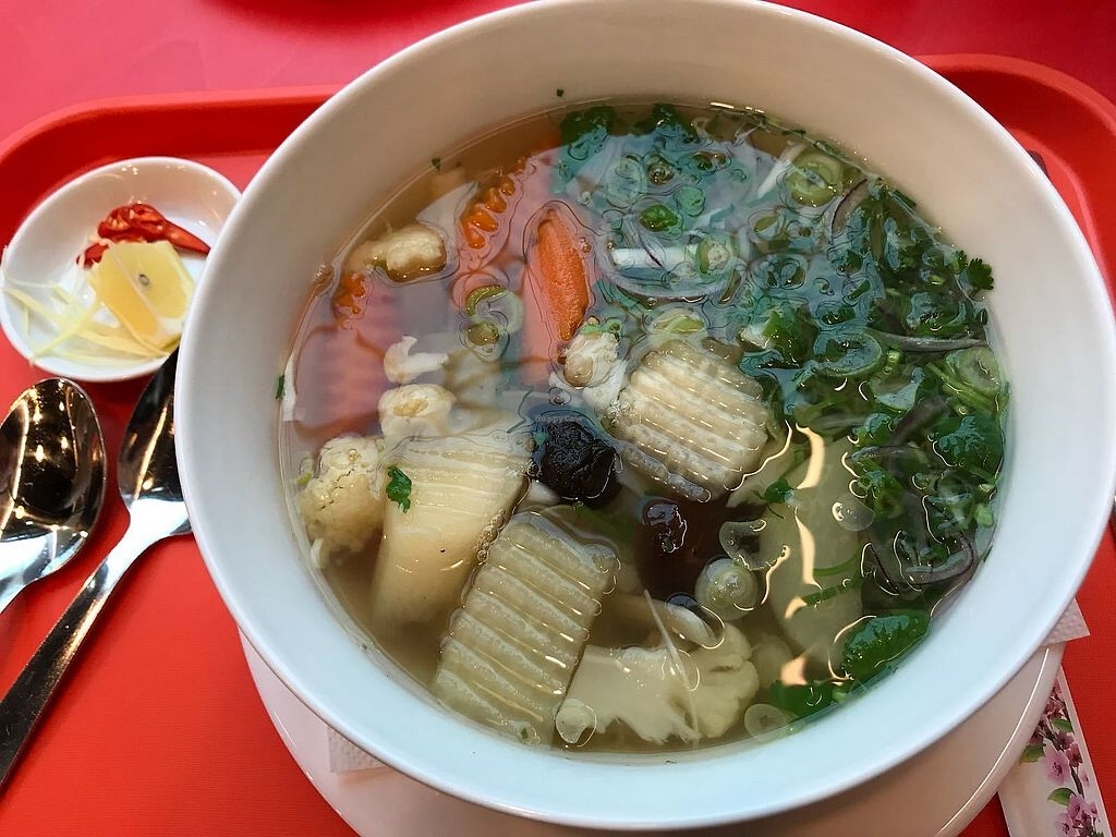 """Photo of Pho  by <a href=""""/members/profile/MarcusVegan"""">MarcusVegan</a> <br/>pho soup <br/> November 26, 2017  - <a href='/contact/abuse/image/105844/329418'>Report</a>"""
