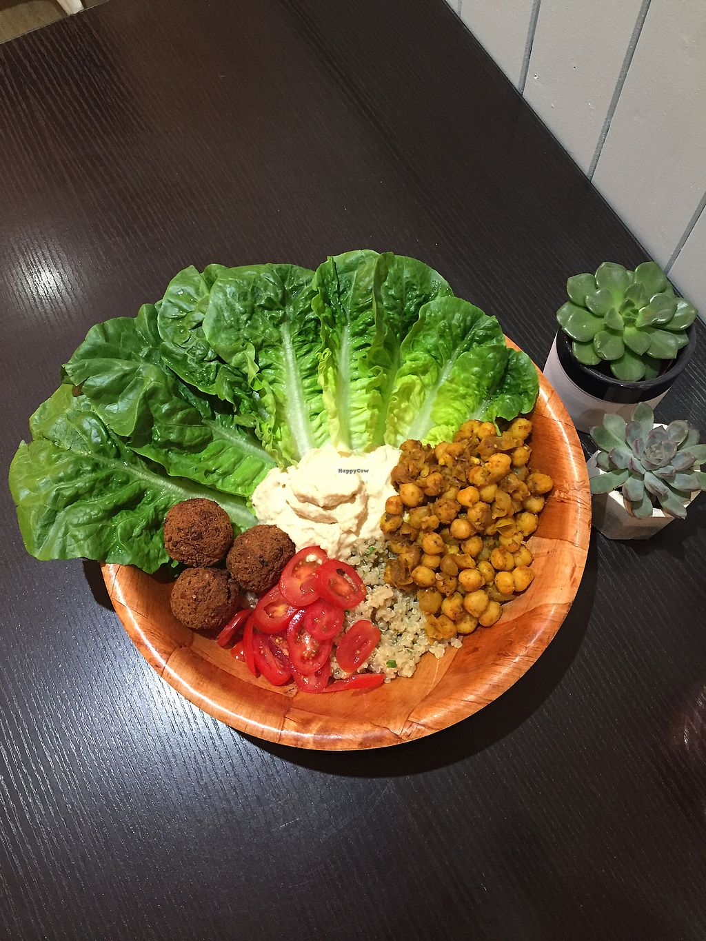 """Photo of Happy Friday Kitchen   by <a href=""""/members/profile/LaurenceWright"""">LaurenceWright</a> <br/>Falafel bowl  <br/> November 24, 2017  - <a href='/contact/abuse/image/105857/328808'>Report</a>"""