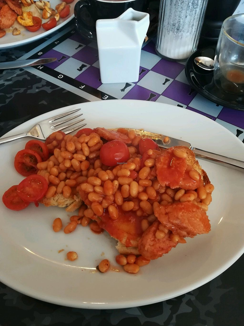 "Photo of Bean Social  by <a href=""/members/profile/AndyRedfern"">AndyRedfern</a> <br/>Posh beans - great breakfast choice <br/> February 24, 2018  - <a href='/contact/abuse/image/105862/363174'>Report</a>"