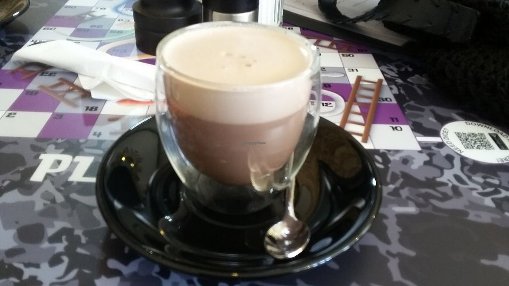 "Photo of Bean Social  by <a href=""/members/profile/deadpledge"">deadpledge</a> <br/>Vegan hot chocolate <br/> April 6, 2018  - <a href='/contact/abuse/image/105862/381586'>Report</a>"