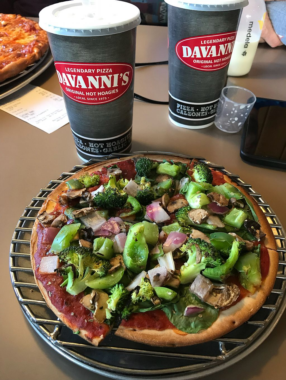 "Photo of Davanni's Pizza & Hot Hoagies  by <a href=""/members/profile/KarenTatur"">KarenTatur</a> <br/>Veggie Pizza <br/> December 3, 2017  - <a href='/contact/abuse/image/105905/331700'>Report</a>"