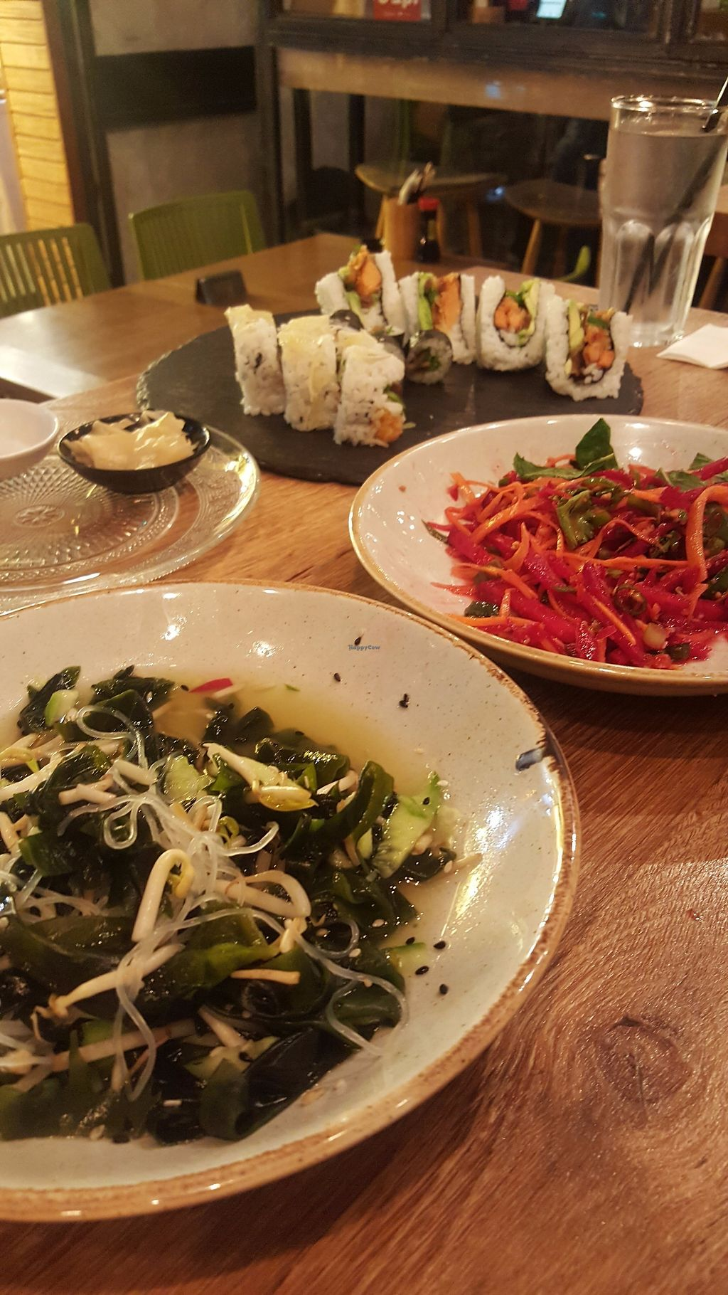 "Photo of Yan Sushi House  by <a href=""/members/profile/EinavShimoni"">EinavShimoni</a> <br/>vegan asian salads, partly eaten <br/> November 25, 2017  - <a href='/contact/abuse/image/105918/329124'>Report</a>"