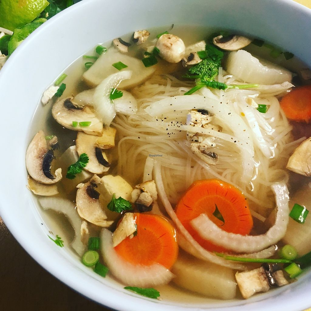 """Photo of Pho Cafe  by <a href=""""/members/profile/TraciH"""">TraciH</a> <br/>Vegan Pho <br/> November 27, 2017  - <a href='/contact/abuse/image/105928/329552'>Report</a>"""