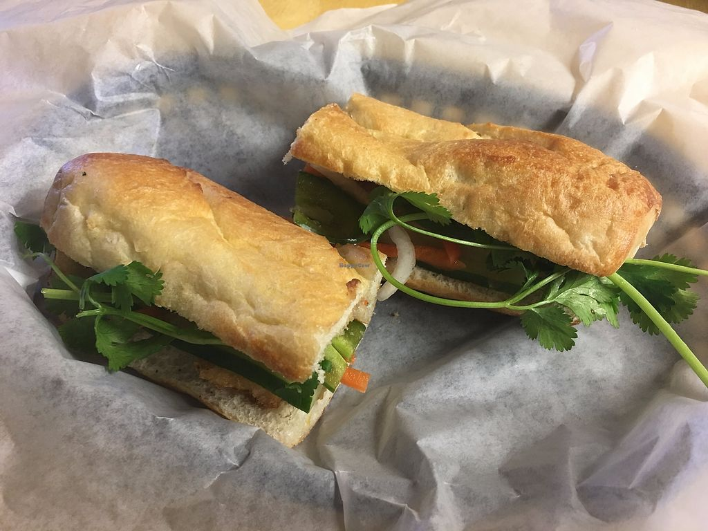 """Photo of Pho Cafe  by <a href=""""/members/profile/TraciH"""">TraciH</a> <br/>Tofu Bahn Mi <br/> November 27, 2017  - <a href='/contact/abuse/image/105928/329554'>Report</a>"""