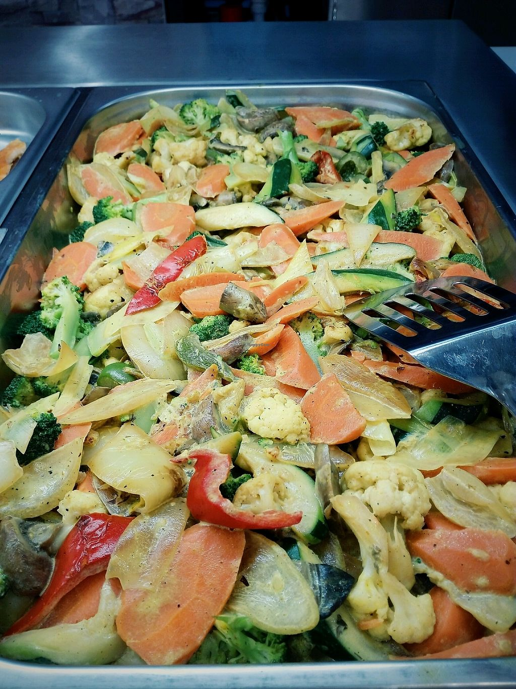 """Photo of Lidia's Health Food  by <a href=""""/members/profile/MarianaLois"""">MarianaLois</a> <br/>Vegetable Curry <br/> November 25, 2017  - <a href='/contact/abuse/image/105930/329139'>Report</a>"""