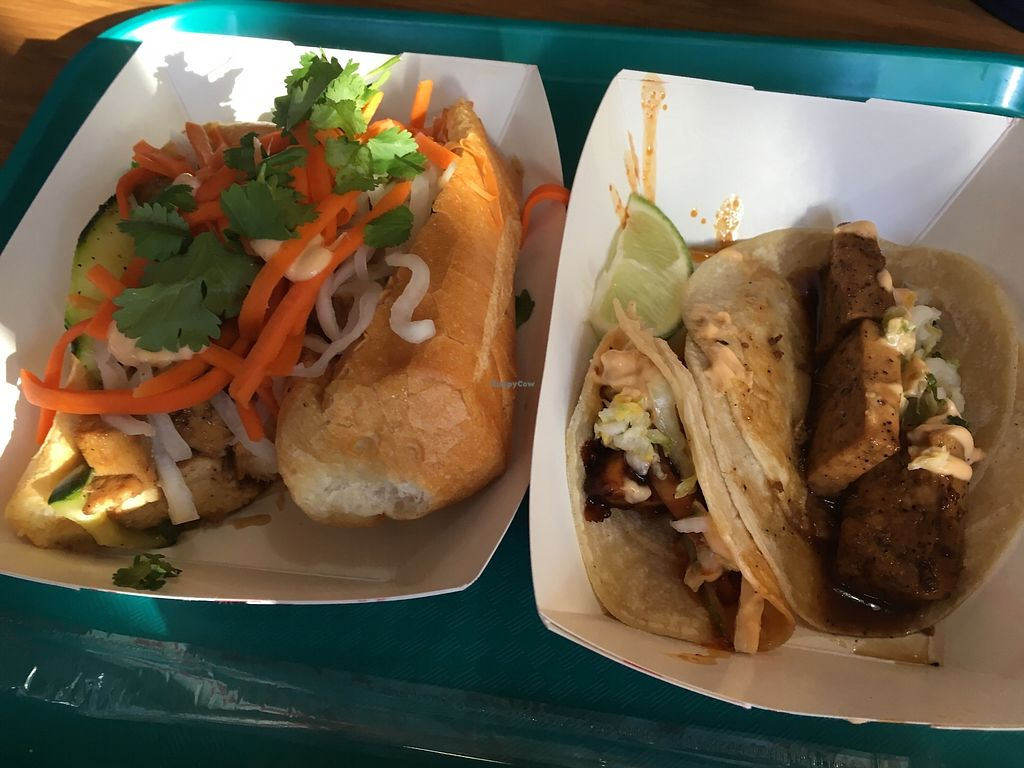 "Photo of Kalbi Taco Shack  by <a href=""/members/profile/KateShaw"">KateShaw</a> <br/>Bahn mi and tacos <br/> November 25, 2017  - <a href='/contact/abuse/image/105933/329104'>Report</a>"