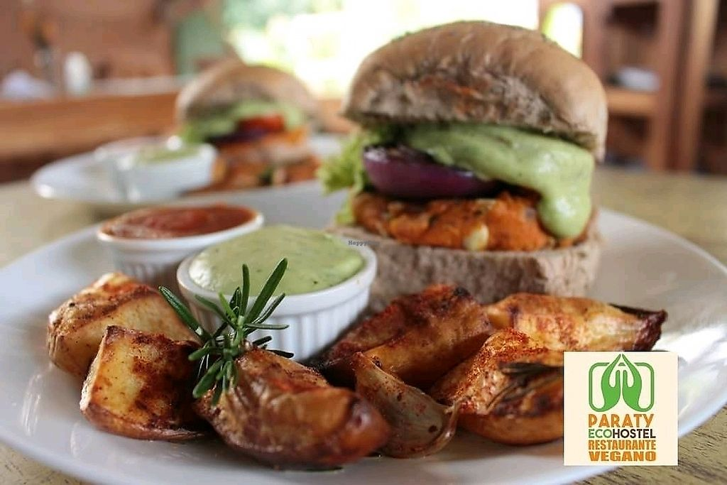 """Photo of Paraty EcoHostel e Restaurante Vegano  by <a href=""""/members/profile/ParatyEcoHostel"""">ParatyEcoHostel</a> <br/>organic and healthy fast food! <br/> November 28, 2017  - <a href='/contact/abuse/image/106009/330133'>Report</a>"""