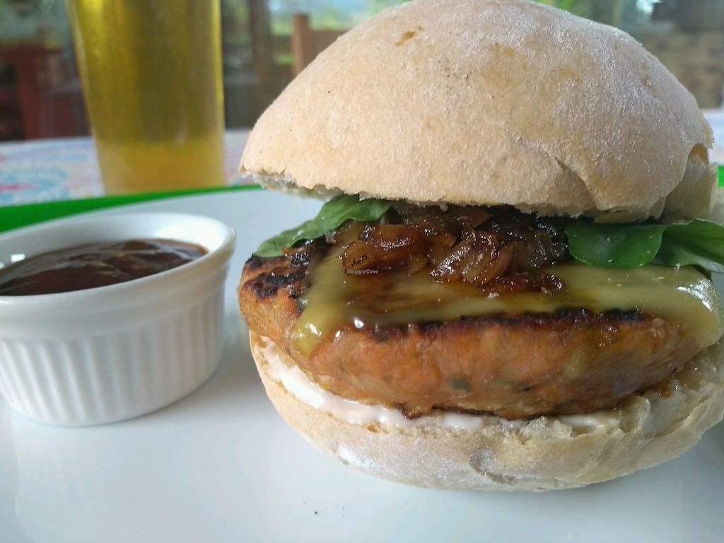"""Photo of Paraty EcoHostel e Restaurante Vegano  by <a href=""""/members/profile/ParatyEcoHostel"""">ParatyEcoHostel</a> <br/>10 kinds of vegan burgers!! meals and good vibrations  <br/> December 23, 2017  - <a href='/contact/abuse/image/106009/338350'>Report</a>"""