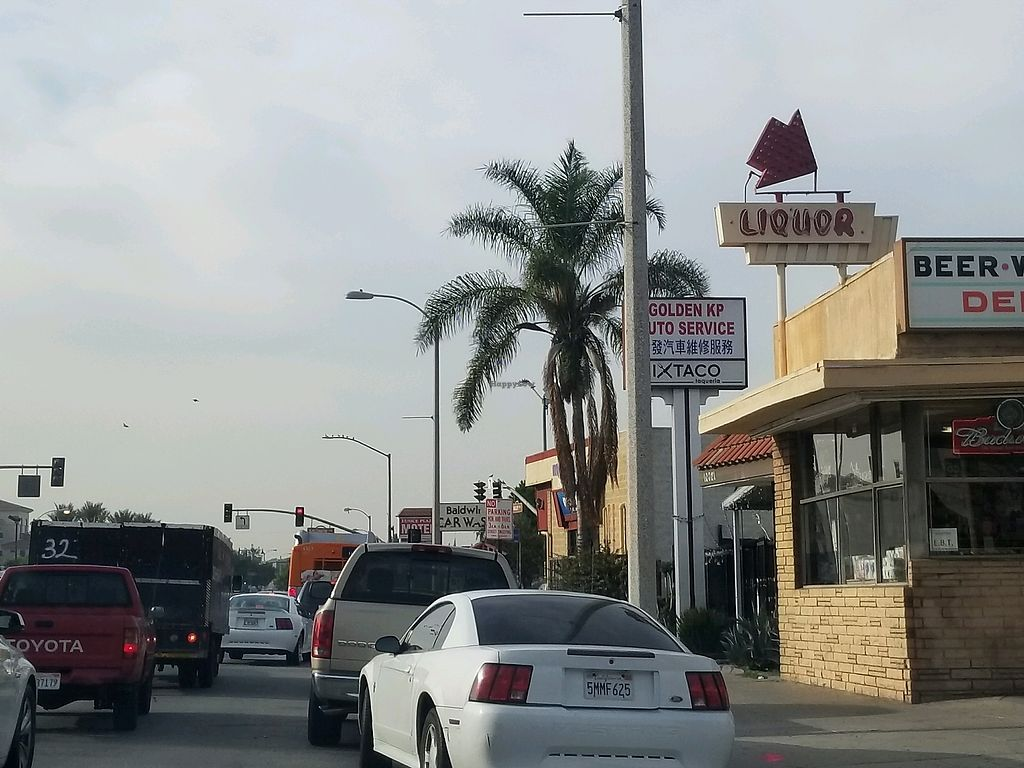 """Photo of Ixtaco Taqueria  by <a href=""""/members/profile/VegGuyLA"""">VegGuyLA</a> <br/>from the street <br/> January 16, 2018  - <a href='/contact/abuse/image/106045/347370'>Report</a>"""