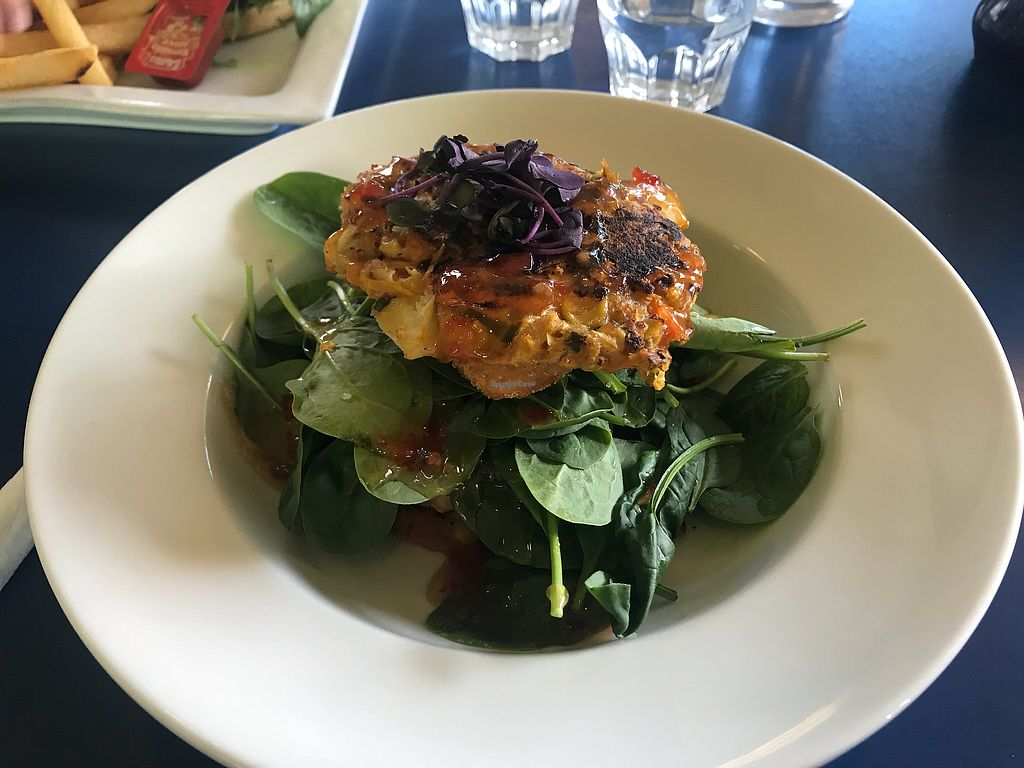 """Photo of The Olive Tree Cafe  by <a href=""""/members/profile/Paolla"""">Paolla</a> <br/>Vegetarian stack <br/> December 3, 2017  - <a href='/contact/abuse/image/106047/331641'>Report</a>"""
