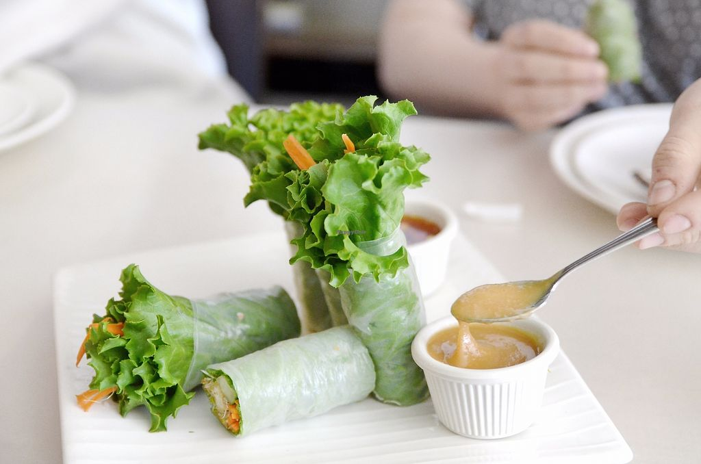 """Photo of Amarin Thai  by <a href=""""/members/profile/KellyBone"""">KellyBone</a> <br/>Summer Rolls <br/> December 3, 2017  - <a href='/contact/abuse/image/106060/332104'>Report</a>"""