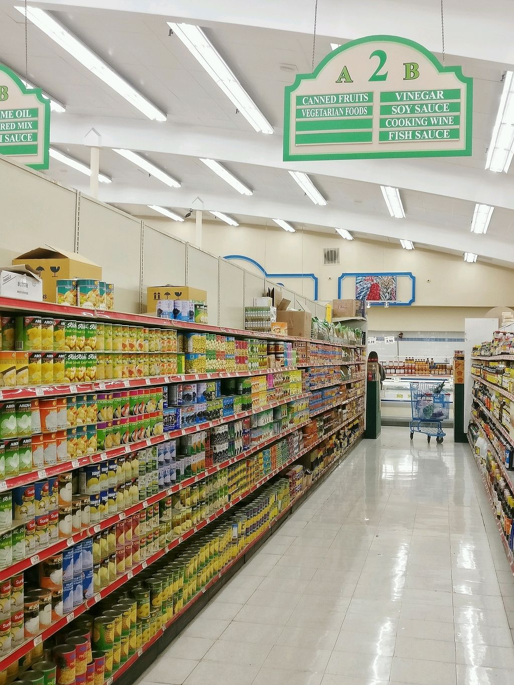 """Photo of World Foods Supermarket  by <a href=""""/members/profile/KellyBone"""">KellyBone</a> <br/>Vegetarian Food Aisle  <br/> March 11, 2018  - <a href='/contact/abuse/image/106061/369470'>Report</a>"""