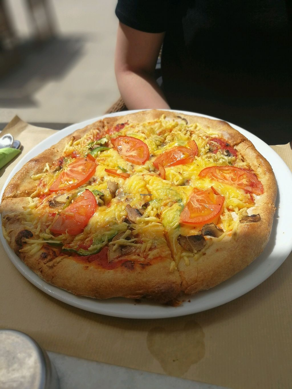 "Photo of V+ S Corner  by <a href=""/members/profile/JohnVanillah"">JohnVanillah</a> <br/>vegetarian pizza with vegan cheese <br/> April 12, 2018  - <a href='/contact/abuse/image/106078/384595'>Report</a>"