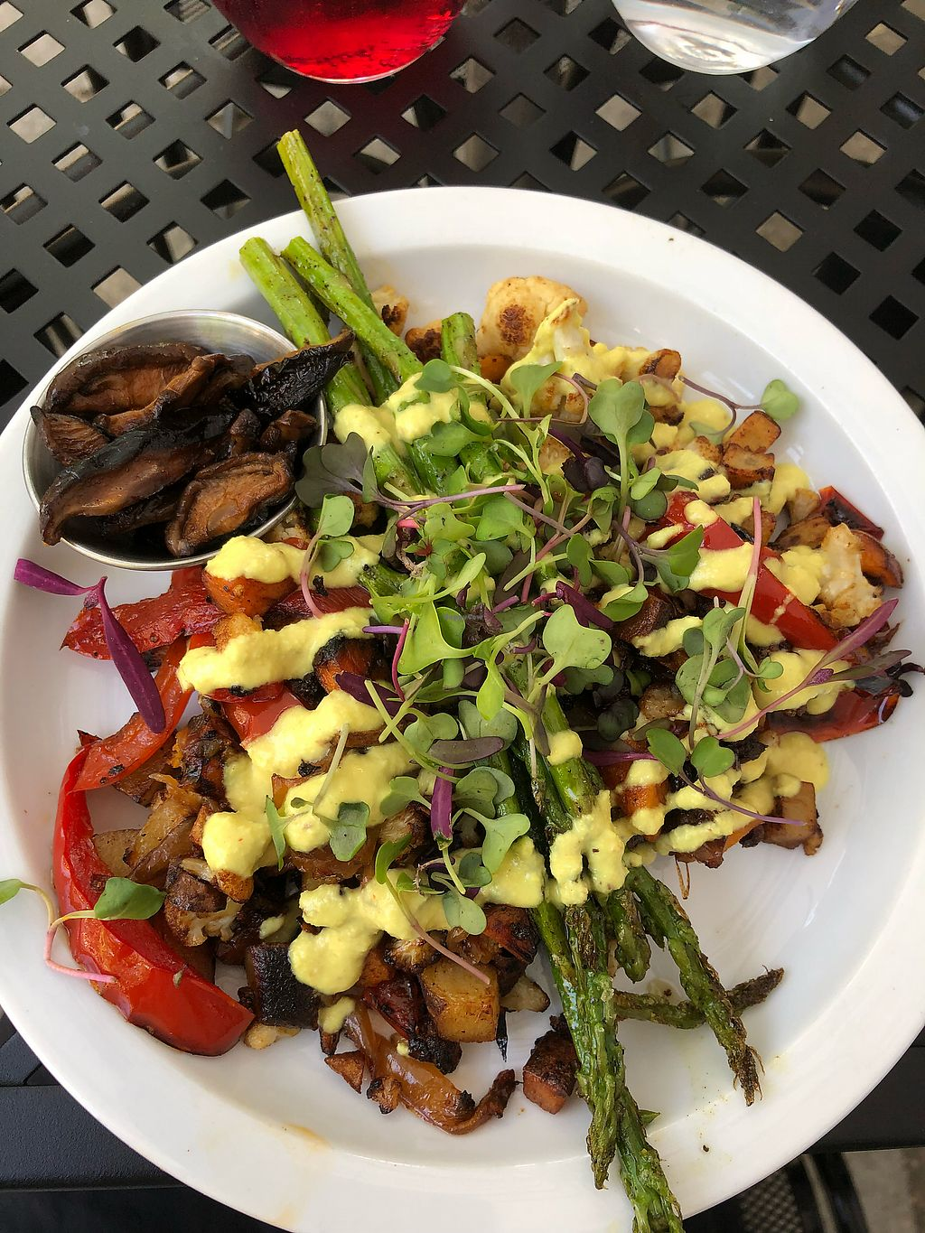 """Photo of Fox & Fig  by <a href=""""/members/profile/KerryElise"""">KerryElise</a> <br/>Breakfast hash with cashew hollandaise  <br/> April 12, 2018  - <a href='/contact/abuse/image/106084/384668'>Report</a>"""