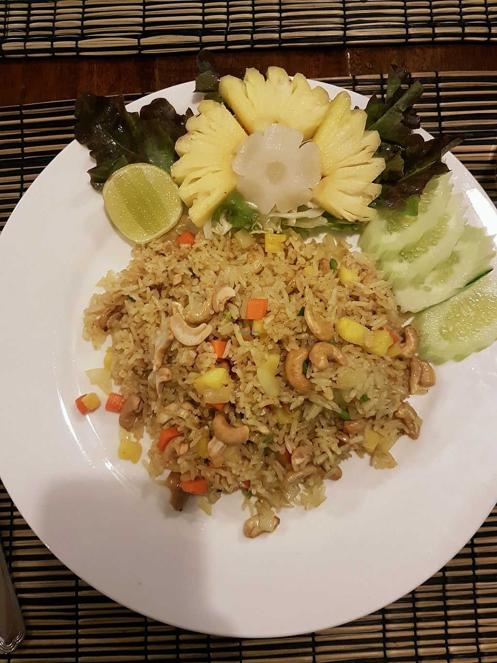 """Photo of Pailay  by <a href=""""/members/profile/ZuzannaChronowska"""">ZuzannaChronowska</a> <br/>Fried rice with cashews and pineapple <br/> November 29, 2017  - <a href='/contact/abuse/image/106139/330303'>Report</a>"""