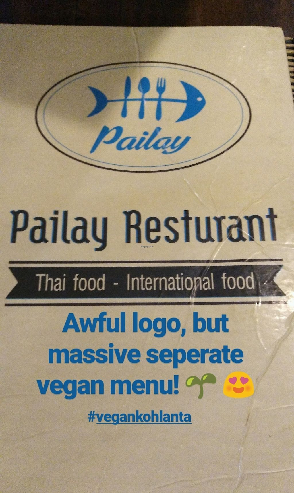 """Photo of Pailay  by <a href=""""/members/profile/NicoleButler"""">NicoleButler</a> <br/>Don't let the fishy logo deter you!  <br/> April 13, 2018  - <a href='/contact/abuse/image/106139/384824'>Report</a>"""