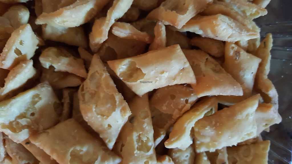 """Photo of Namaste India Groceries and Vegetables  by <a href=""""/members/profile/debbiesmall"""">debbiesmall</a> <br/>Snack breads spicy. Very good <br/> November 29, 2017  - <a href='/contact/abuse/image/106175/330527'>Report</a>"""