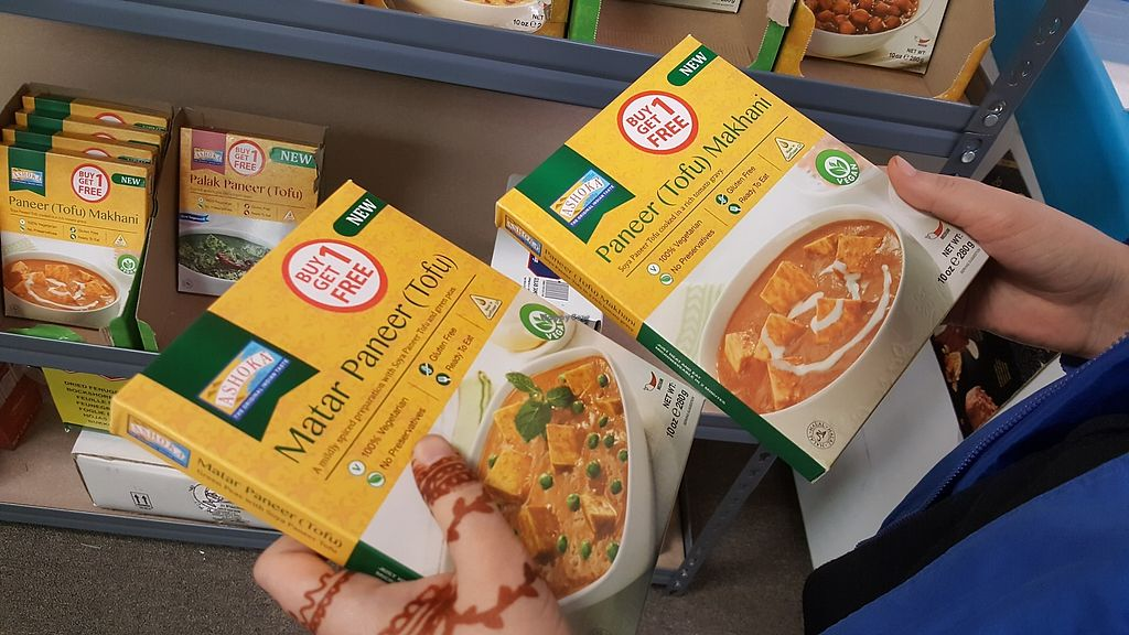 """Photo of Namaste India Groceries and Vegetables  by <a href=""""/members/profile/debbiesmall"""">debbiesmall</a> <br/>What we got. Delicious! Put in microwave.   Put with rice.  <br/> November 29, 2017  - <a href='/contact/abuse/image/106175/330534'>Report</a>"""