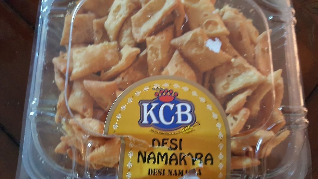 """Photo of Namaste India Groceries and Vegetables  by <a href=""""/members/profile/debbiesmall"""">debbiesmall</a> <br/>Snacks bread spicy good <br/> November 29, 2017  - <a href='/contact/abuse/image/106175/330727'>Report</a>"""