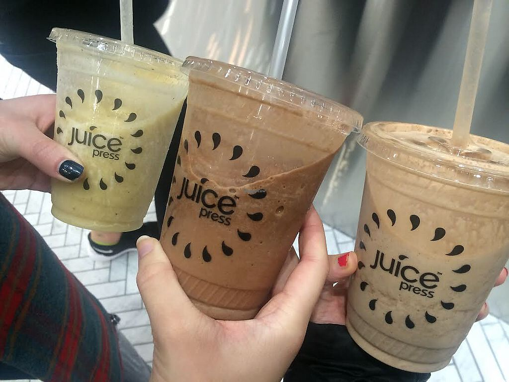 """Photo of Juice Press  by <a href=""""/members/profile/BriggitteJ"""">BriggitteJ</a> <br/>Smoothies  <br/> May 4, 2018  - <a href='/contact/abuse/image/106177/394944'>Report</a>"""