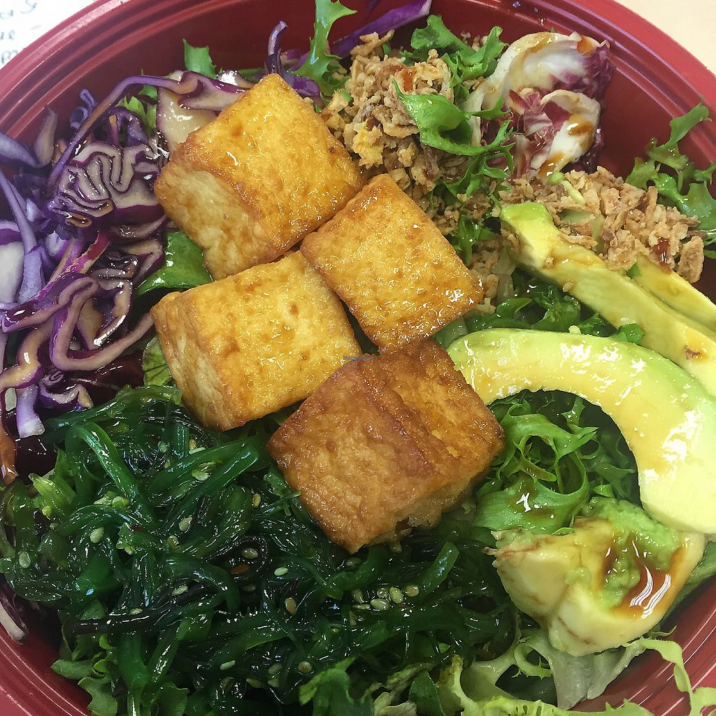 "Photo of Poke House  by <a href=""/members/profile/bakeydoesntbake"">bakeydoesntbake</a> <br/>Fried tofu poke bowl <br/> November 29, 2017  - <a href='/contact/abuse/image/106181/330381'>Report</a>"
