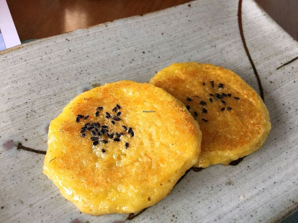 "Photo of Ssukbujaeng-i - 쑥부쟁이  by <a href=""/members/profile/dan1234"">dan1234</a> <br/>Potato pancakes (gamja jeon) <br/> March 19, 2018  - <a href='/contact/abuse/image/106197/372733'>Report</a>"