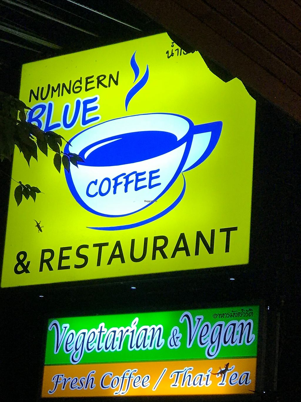 "Photo of NumNgern Coffee & Restaurant  by <a href=""/members/profile/Hulahoopingvegan"">Hulahoopingvegan</a> <br/>Sign outside restaurant  <br/> November 29, 2017  - <a href='/contact/abuse/image/106202/330341'>Report</a>"