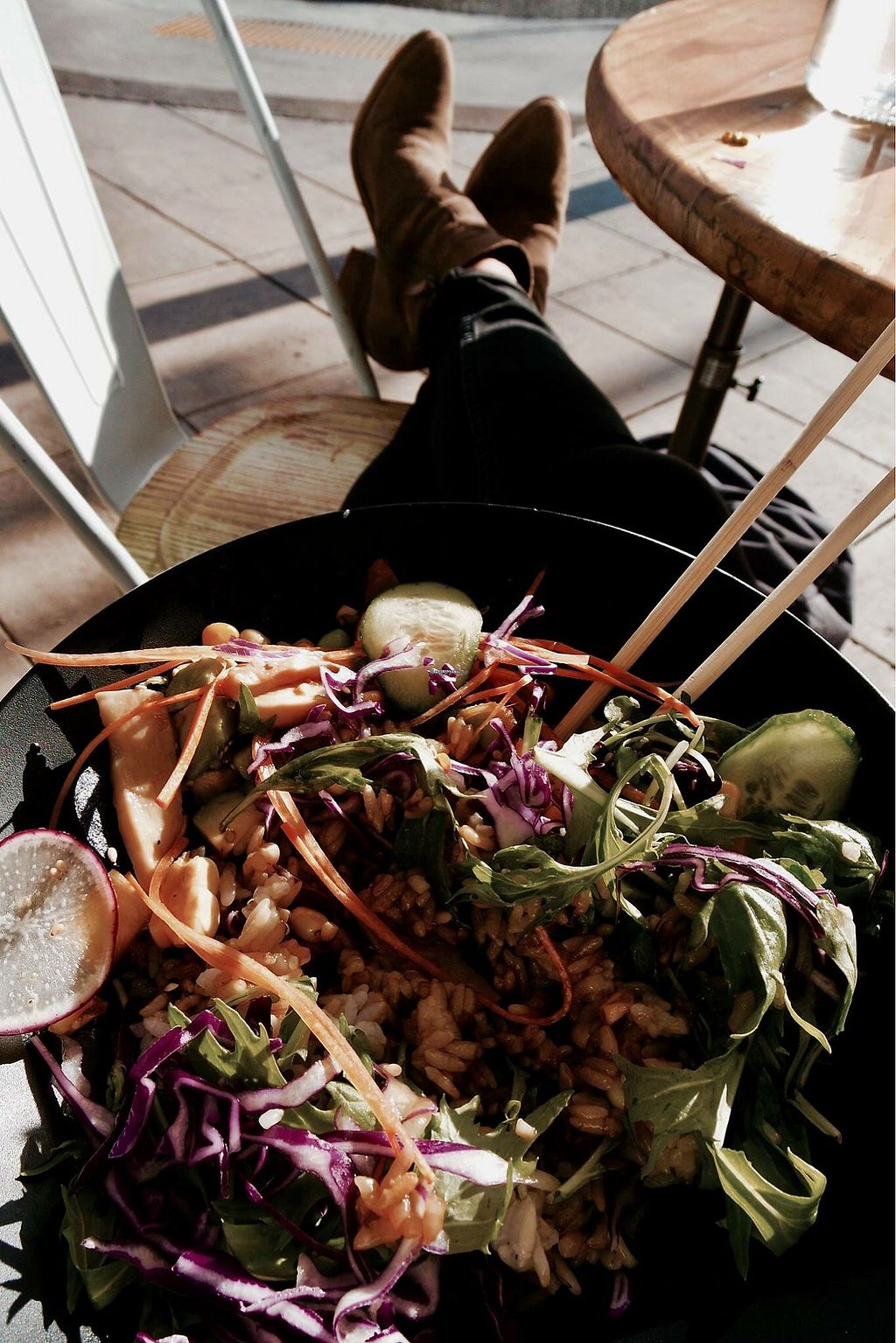 """Photo of Hachi Ramen  by <a href=""""/members/profile/KristinaDegreef"""">KristinaDegreef</a> <br/>The Vegan Poke Bowl  <br/> December 28, 2017  - <a href='/contact/abuse/image/106212/340186'>Report</a>"""