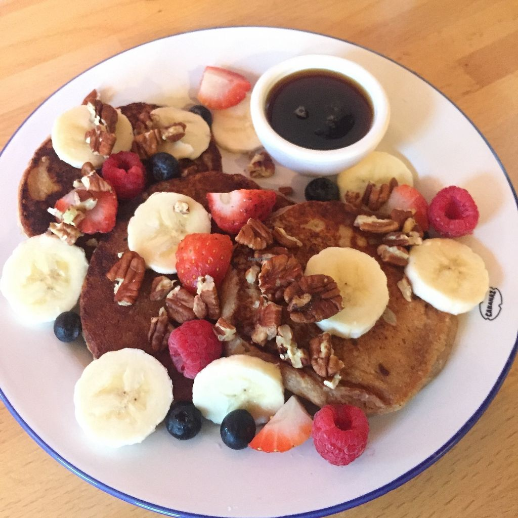 """Photo of The Blueberry  by <a href=""""/members/profile/LisettedeJong"""">LisettedeJong</a> <br/>Vegan Banana Pancakes <br/> November 29, 2017  - <a href='/contact/abuse/image/106223/330629'>Report</a>"""