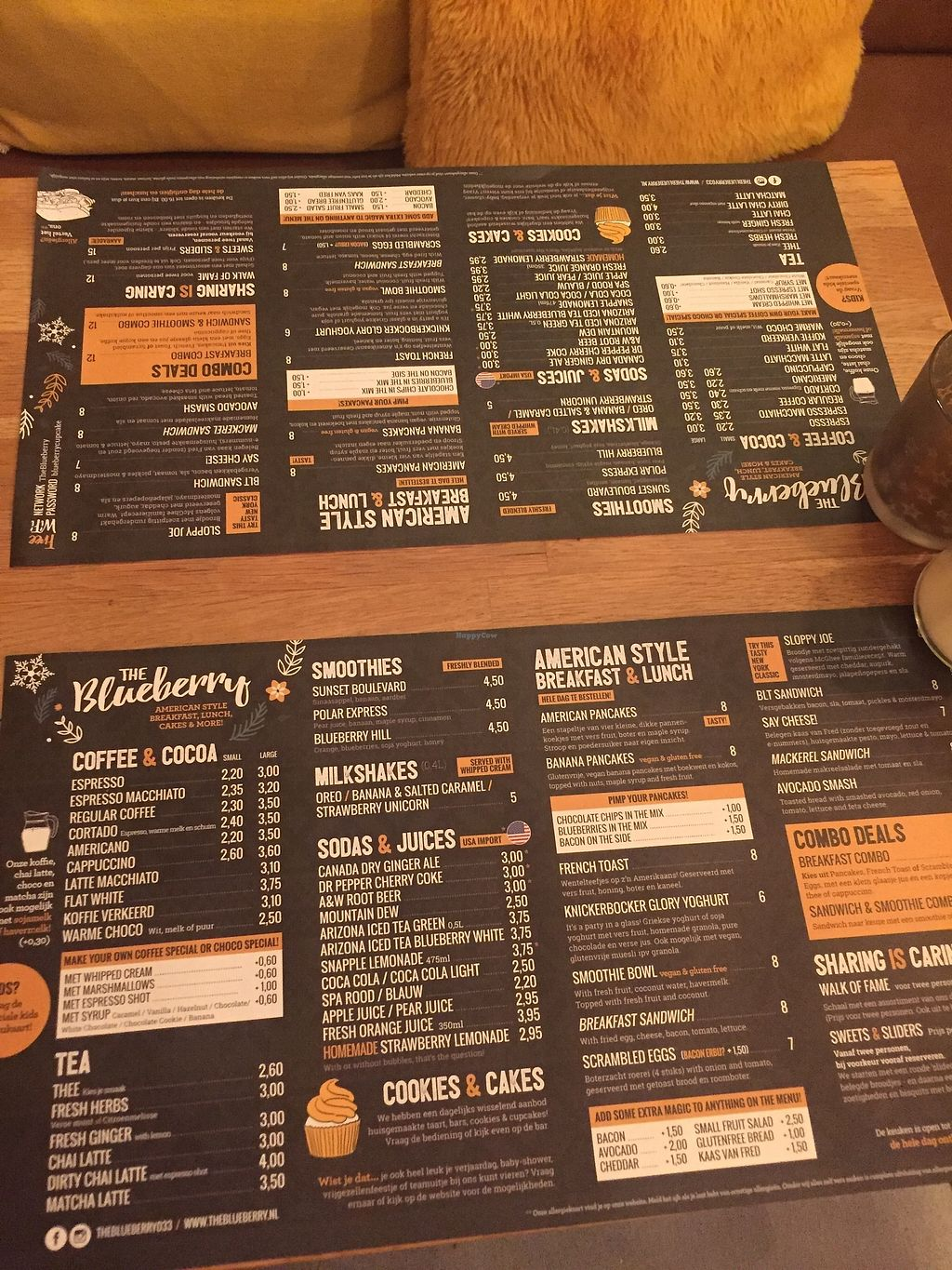 """Photo of The Blueberry  by <a href=""""/members/profile/LisettedeJong"""">LisettedeJong</a> <br/>Menu <br/> November 29, 2017  - <a href='/contact/abuse/image/106223/330630'>Report</a>"""
