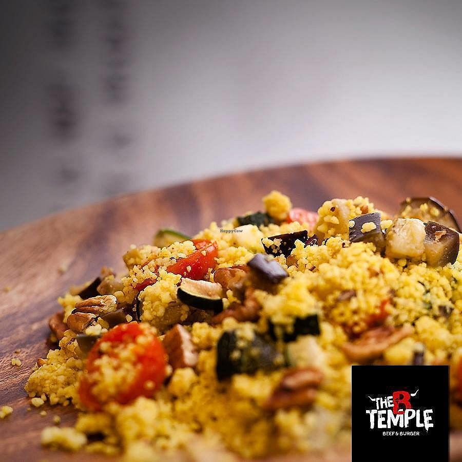 """Photo of The B Temple  by <a href=""""/members/profile/Vera%20Peres"""">Vera Peres</a> <br/>Couscous and veggies salad <br/> November 30, 2017  - <a href='/contact/abuse/image/106229/330776'>Report</a>"""