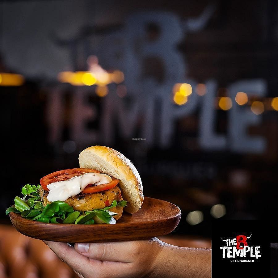 """Photo of The B Temple  by <a href=""""/members/profile/Vera%20Peres"""">Vera Peres</a> <br/>Tofu burger <br/> November 30, 2017  - <a href='/contact/abuse/image/106229/330777'>Report</a>"""