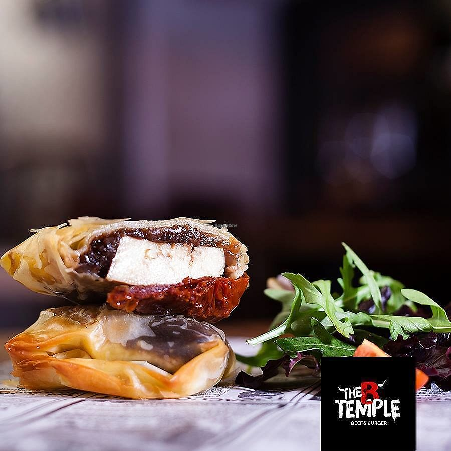 """Photo of The B Temple  by <a href=""""/members/profile/Vera%20Peres"""">Vera Peres</a> <br/>Tofu in filo pastry <br/> November 30, 2017  - <a href='/contact/abuse/image/106229/330778'>Report</a>"""