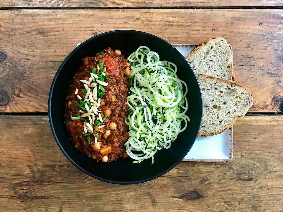 """Photo of Citizen  by <a href=""""/members/profile/Brok%20O.%20Lee"""">Brok O. Lee</a> <br/>Zoodle bowl - zucchini """"noodles"""" <br/> December 21, 2017  - <a href='/contact/abuse/image/106240/337789'>Report</a>"""