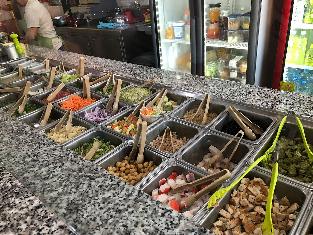 """Photo of Barra Light  by <a href=""""/members/profile/SteveYates"""">SteveYates</a> <br/>Beyond what is in front of you, there are items such as beets and mushrooms in the cooler, so ask <br/> December 1, 2017  - <a href='/contact/abuse/image/106243/330996'>Report</a>"""