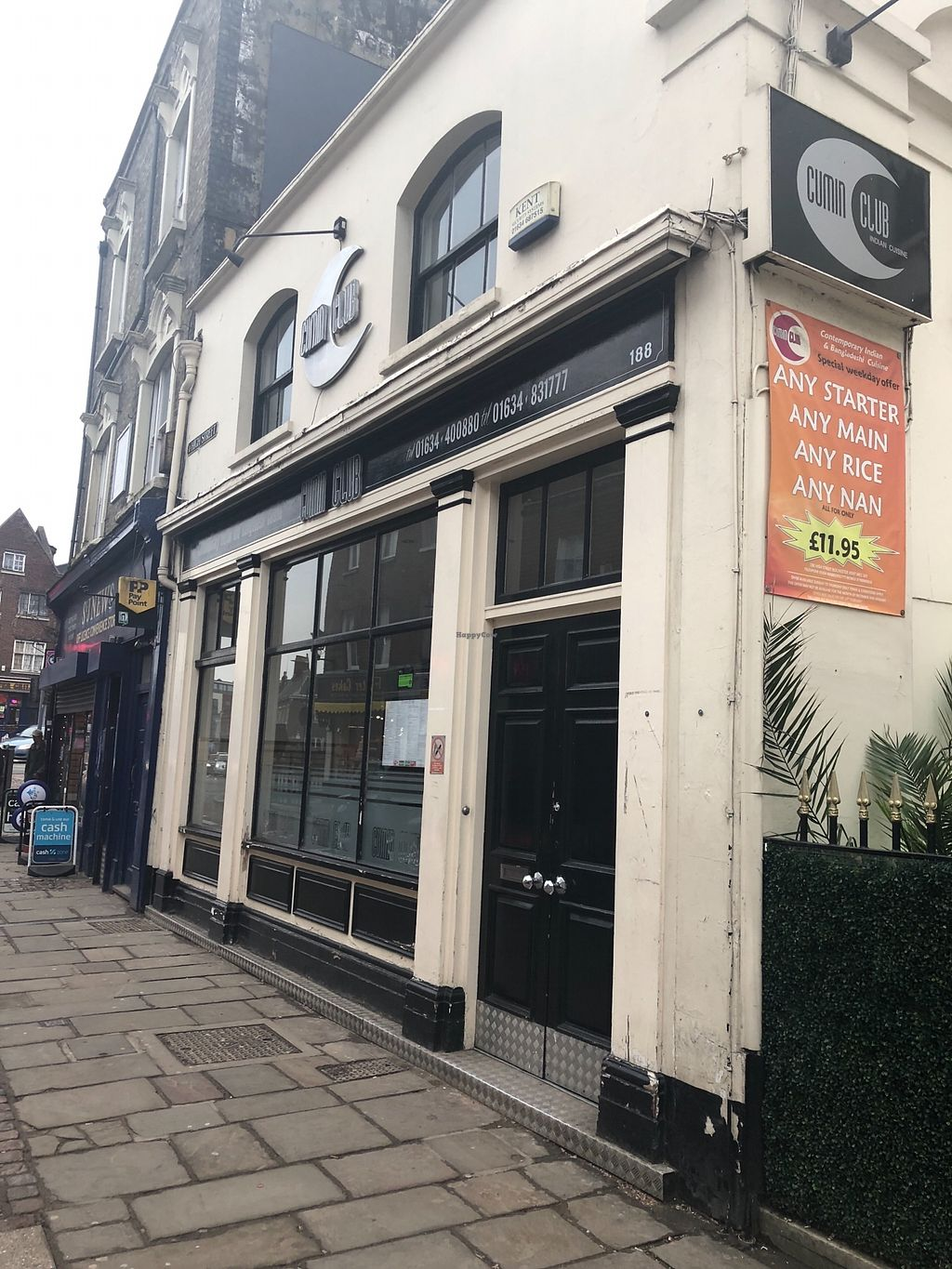 "Photo of Cumin Club  by <a href=""/members/profile/TARAMCDONALD"">TARAMCDONALD</a> <br/>Outside of venue <br/> March 24, 2018  - <a href='/contact/abuse/image/106287/375428'>Report</a>"