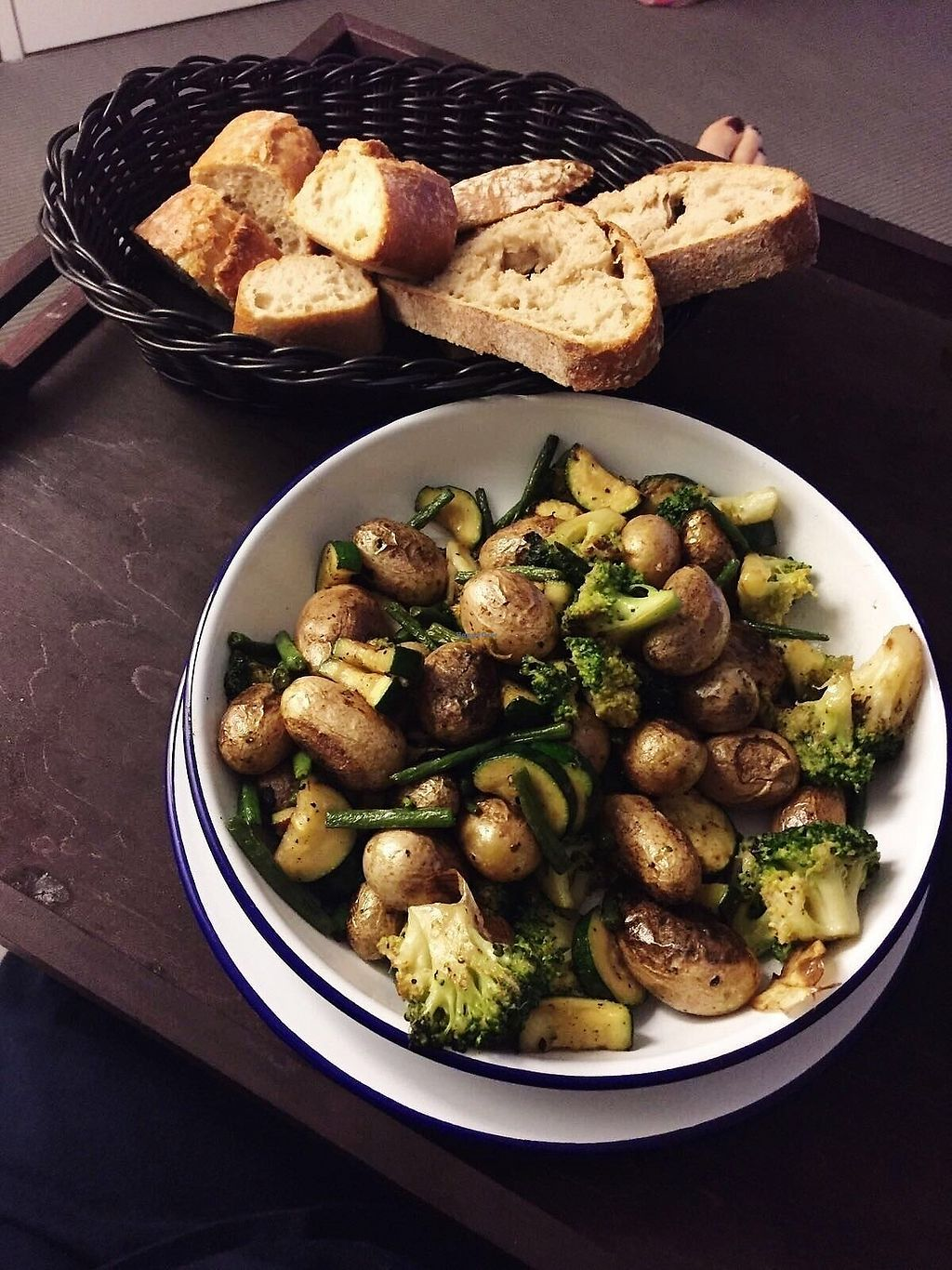 """Photo of Kube Hotel Paris  by <a href=""""/members/profile/TARAMCDONALD"""">TARAMCDONALD</a> <br/>Freshly made bead and roasted veggie platter <br/> November 30, 2017  - <a href='/contact/abuse/image/106293/330906'>Report</a>"""