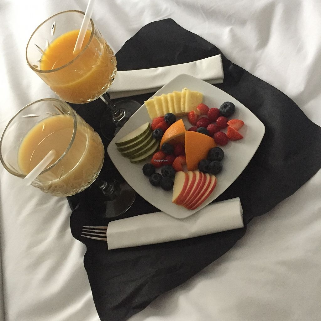 """Photo of Kube Hotel Paris  by <a href=""""/members/profile/TARAMCDONALD"""">TARAMCDONALD</a> <br/>Breakfast is served! <br/> December 1, 2017  - <a href='/contact/abuse/image/106293/331187'>Report</a>"""