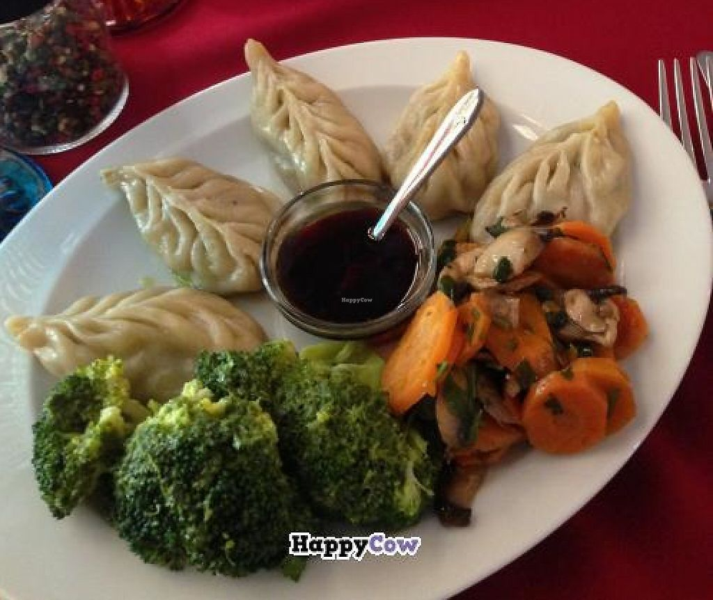 """Photo of Os Tibetanos  by <a href=""""/members/profile/Loli"""">Loli</a> <br/>Momos: steamed or fried dumplings with seitan and vegetables filling <br/> August 17, 2013  - <a href='/contact/abuse/image/1062/241137'>Report</a>"""