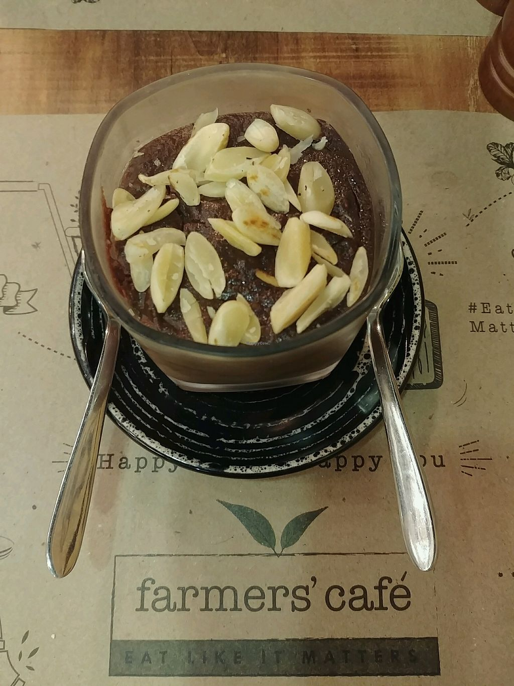 """Photo of Farmers' Cafe  by <a href=""""/members/profile/TusharGogia"""">TusharGogia</a> <br/>Chocolate Almond Deliciousness <br/> December 3, 2017  - <a href='/contact/abuse/image/106315/331928'>Report</a>"""