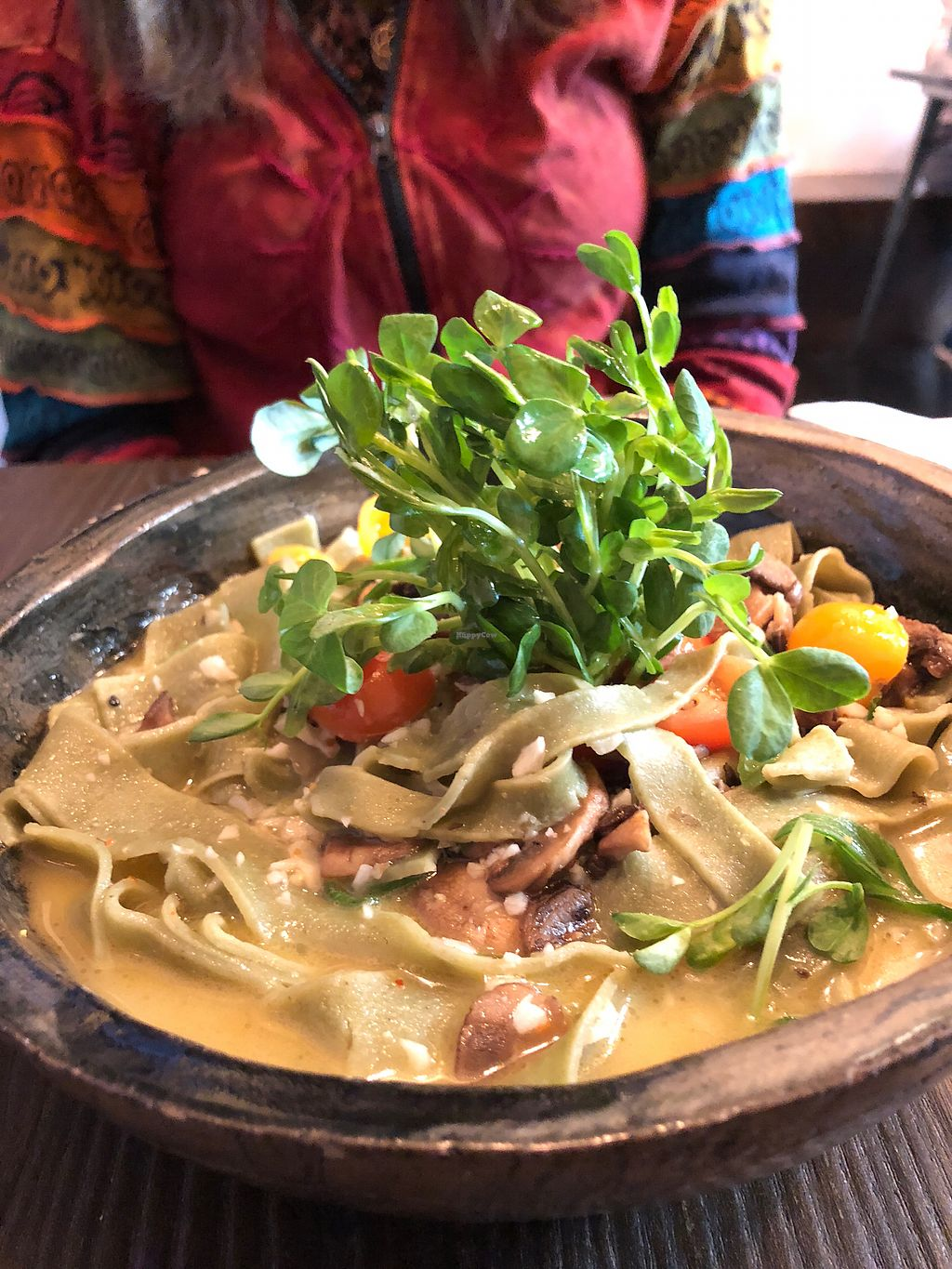 """Photo of Panacea  by <a href=""""/members/profile/DebbieFrye"""">DebbieFrye</a> <br/>Fettuccine without the spicy topping <br/> February 11, 2018  - <a href='/contact/abuse/image/106333/358069'>Report</a>"""
