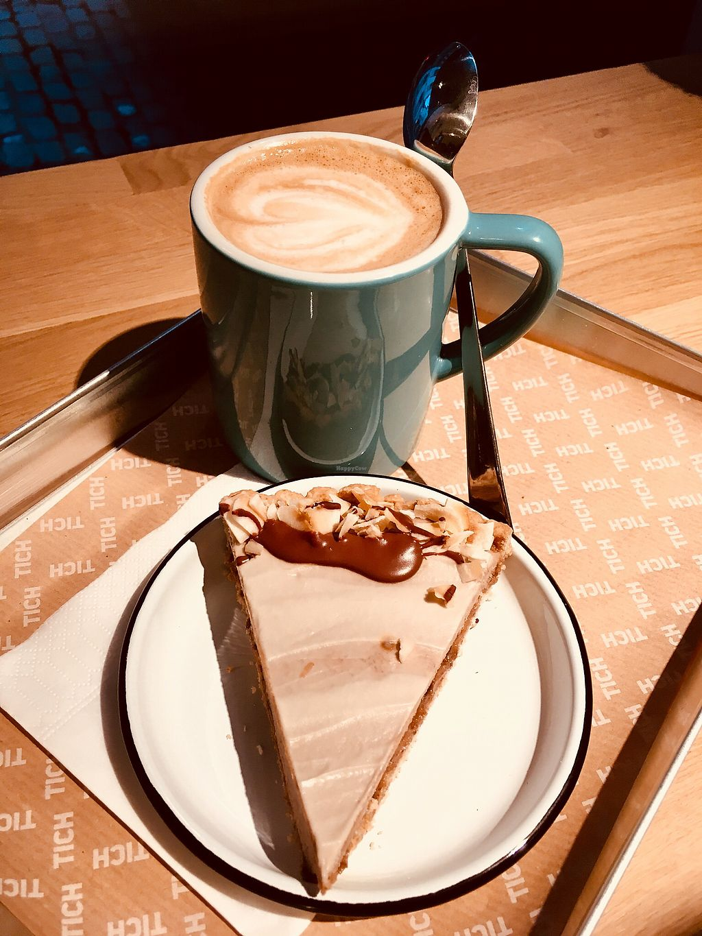 "Photo of TICH Healthy Living  by <a href=""/members/profile/VeganJack"">VeganJack</a> <br/>Banana cream pie & latte. Hmmm! <br/> December 27, 2017  - <a href='/contact/abuse/image/106346/339612'>Report</a>"