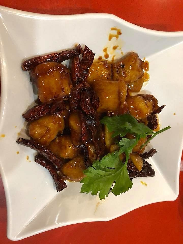 "Photo of Hometown Kitchen  by <a href=""/members/profile/JimmySeah"">JimmySeah</a> <br/>Kung po chicken <br/> December 10, 2017  - <a href='/contact/abuse/image/106358/334281'>Report</a>"