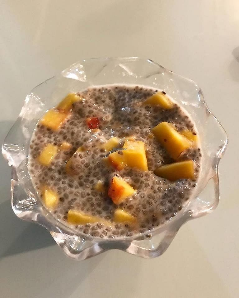 """Photo of El Paraje   by <a href=""""/members/profile/YanethGris"""">YanethGris</a> <br/>Chia pudding with mango <br/> December 5, 2017  - <a href='/contact/abuse/image/106371/332432'>Report</a>"""