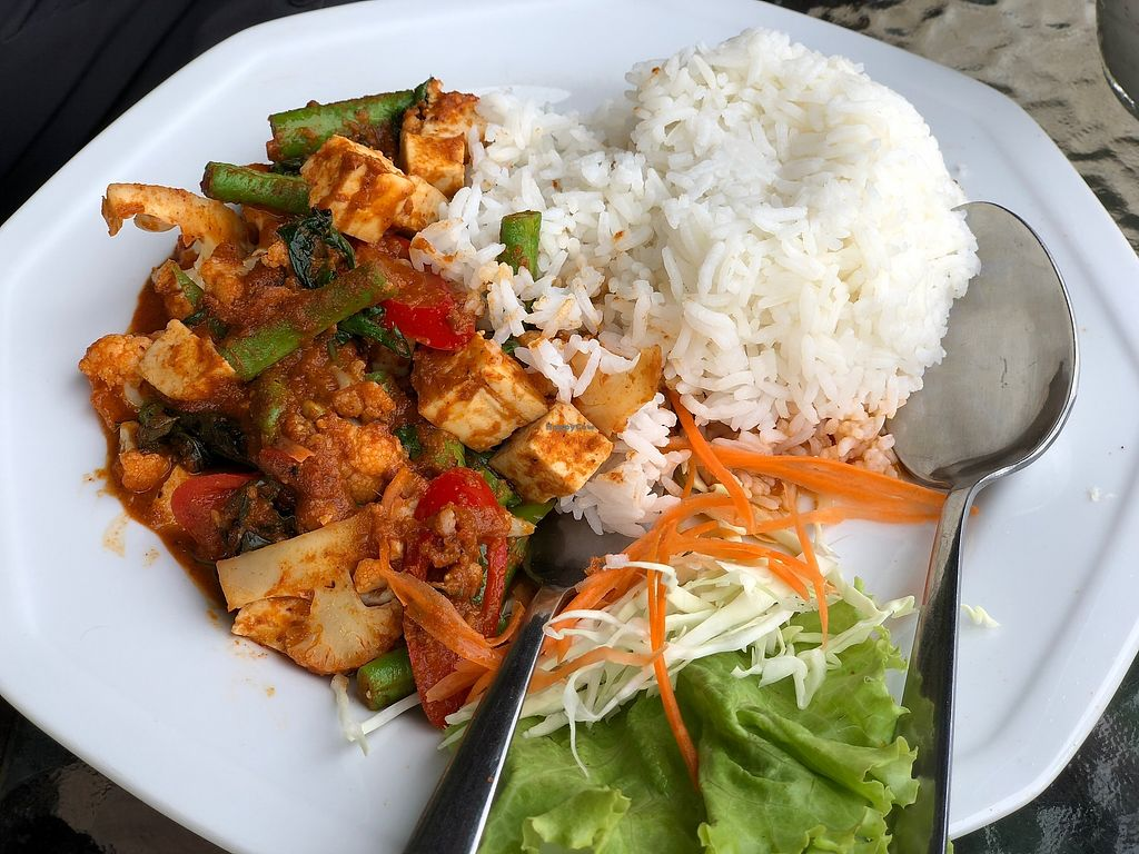 """Photo of Good Luck  by <a href=""""/members/profile/JaninaMaria"""">JaninaMaria</a> <br/>Not the most flavorful, but the only veggie option nearby. Will do in a pinch <br/> December 30, 2017  - <a href='/contact/abuse/image/106409/340959'>Report</a>"""